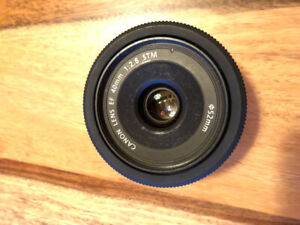 OBJECTIF CANON 40 mm EF 1:2.8 STM