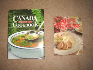 New - Canada the Scenic Land Cookbook, Chef's Creations