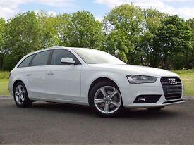 Audi A4 Avant 2.0 TDI SE Multitronic 5dr (white) 2013