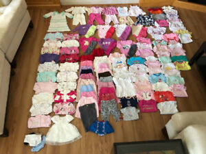 126pc newborn to 3mo girl bundle