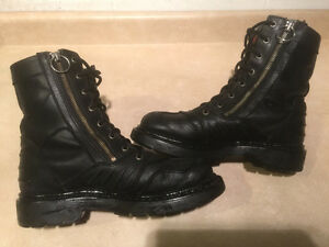Men's Harley-Davidson Leather Boots Size 7 London Ontario image 6