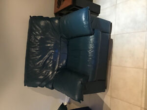 2 piece Italian leather couches