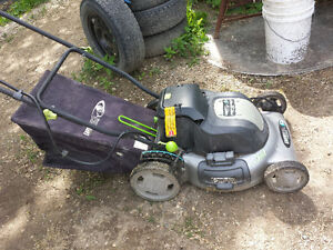 Battery Powered Lawnmower