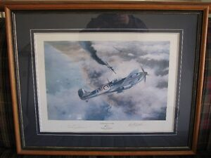 Aviation Art - Victory over Dunkirk by Robert Taylor