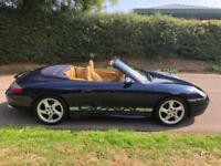1998 PORSCHE 911 3.4 CARRERA CABRIOLET TIPTRONIC S AERO BODYKIT