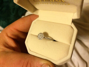 Brand new engagement ring with receipt and warranty
