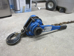 Bravo 3 Ton Come Along Lifter Puller - Tractel Kitchener / Waterloo Kitchener Area image 1