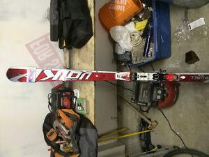 VOLKL GS RACE SKIS 2013-2014 175cm WITH BINDINGS