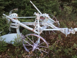 Antique Horse Drawn Plows