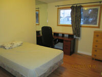 Short term rental with private half washroom by Southgate LRT