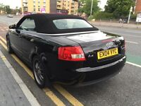 Audi a4 convertable 2.5tdi 6 speed black