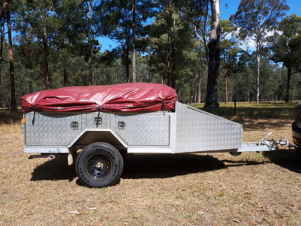 Offroad Camper Trailer Soft Floor Nabiac Great Lakes Area Preview