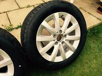 Mercedes a class w168 16 alloy wheel and new tyres 205/55 r 16