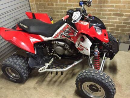 2008 Polaris Outlaw 450 MXR Hillbank Playford Area Preview