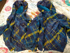Boys' sm 5/6x spring/fall jackets in excellent condition