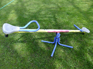 Kids Teeter Totter Big one all metal Construction