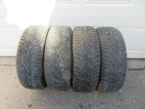 4 215/65r16 Winter Tires