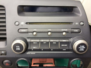 2006-2011 Honda Civic stock stereo cd player