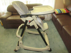 Peg Perego Prima Pappa Rocker High Chair