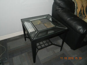 GLASS AND CERAMIC TILE COFFEE AND END TABLES Peterborough Peterborough Area image 3