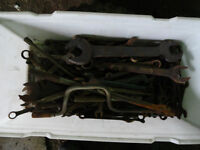 BIN OF WRENCHES