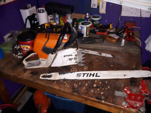 Stihl Ms 661 C Mtronic 8 out of 10 condition runs amazing