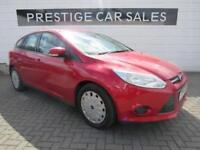 2014 Ford Focus 1.6 TDCi ECOnetic Edge 5dr Diesel red Manual