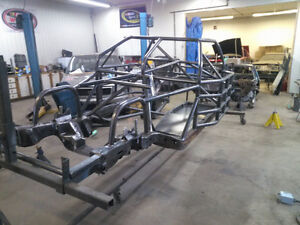 Metric race chassis