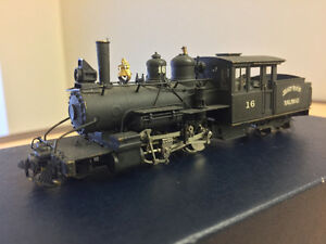 HOn2 1/2 brass model train