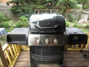 BBQ - with stove - good condition. Great buy for less money