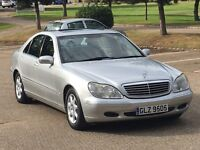 2000 MERCEDES S320 FULLY LOADED VERY LOW MILEAGE LOVELY CONDITION IN AND OUT PX SWAP