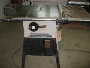 Banc scie Rockwell Beaver table saw
