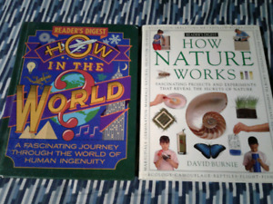 """2 readers digest """"HOW' books"""
