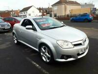 2006 Vauxhall Tigra 1.4 16v Exclusiv Convertible From £2,695 + Retail Package CO
