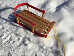 Infant & young child sled