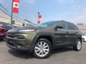 2015 Jeep Cherokee Limited | DUAL SUNROOF | NAVIGATION | VENTED