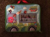 Moshi Monsters storage bus carry case