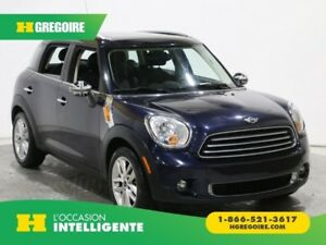 2011 Mini Cooper FWD 4dr AUTO MAGS A/C GR ELECT BLUETOOTH