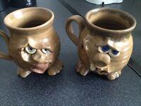 Vintage mugs
