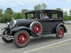 Model A Ford Ready to Tour