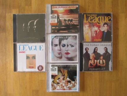 7x The Human League CDs - Mint Condition - Just $5 per CD
