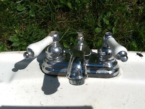 Sinks with taps