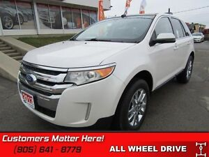 2013 Ford Edge Limited   AWD, NAVIGATION, CAMERA, SUNROOF!
