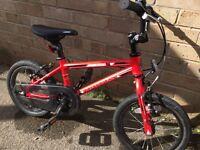 Dawes academy 14 inch boys bike
