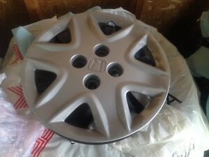 "Honda wheel covers 14"" OEM set 4 like new"