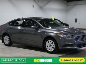 2014 Ford Fusion S A/C GR ELECT BLUETOOTH