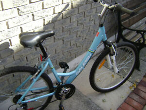 New Raleigh women's mountain bike.