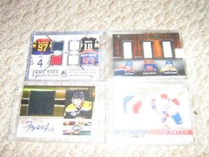 Jersey And Auto /Numbered Cards + Other Cards