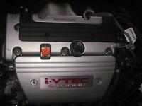 ACURA TSX K24A K24 2.4l DOHC I-VTEC ENGINE JDM K24A MOTOR 200HP