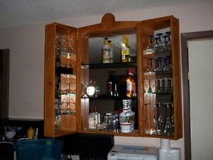 wall bar cabinet Peterborough Peterborough Area image 2